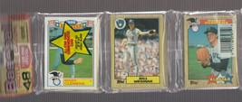 1987 Topps Baseball Rack Pack Roger Clemens on Front & Clemens All Star  RARE!! - $4.00