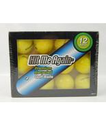 1 Dozen Wilson Duo Yellow Golf Balls - Premium Recycled  - $9.13