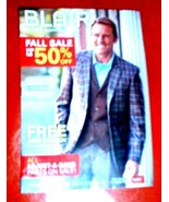 BLAIR MENS Mail-order CATALOG AUTUMN 2016 Male Models Back-issue-Order Form - $4.94