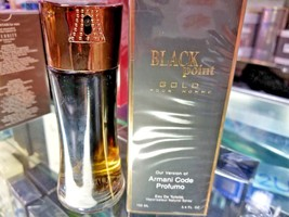 BLACK POINT GOLD Pour Homme 3.4 oz 100 ml Toilette EDT Spray * SEALED IN... - $36.29