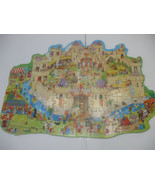 Castle Shaped Jigsaw Puzzle 80 pieces  Ages 6+ - $12.85