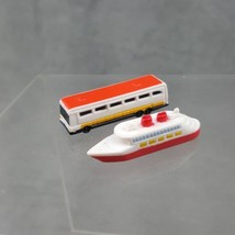 Disney Collector Packs Park Series Cruise Ship Bus Mini Figure Toys - $7.69