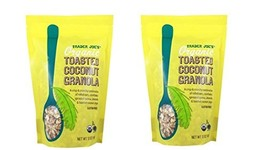 Trader Joe's Organic Toasted Coconut Granola, 12 OZ PACK OF 2 BAGS - $36.50