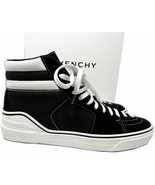 GIVENCHY Men's George V Suede & Canvas High Top Sneakers Shoes 42 - $359.00