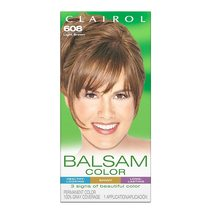 New Clairol Balsam Permanent Hair Color, 608 Light Brown - $9.99