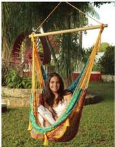 Sunnydaze Extra Large Mayan Chair Hammock With Wood Bar - $72.85+