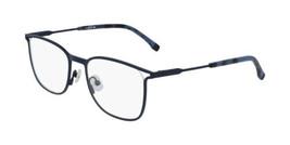 NEW Lacoste L2261 424 Matte Blue Eyeglasses 53mm with Lacoste Case - $89.05