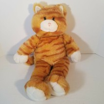 "Build A Bear Orange Striped Tabby Cat Kitty 16"" Plush Stuffed Animal Kitten - $22.86"