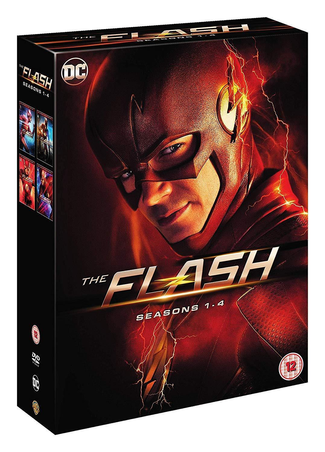 Flash: The Complete Series Seasons 1 2 3 4 (DVD Sets New)