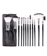 12 PCS Makeup Brush Set Blending Blush Eyeliner Face Powder Brush - $23.71