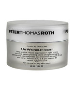 Peter Thomas Roth Clinical Skin Care Un-Wrinkle Night Cream 56g/2oz SEALED - $66.94