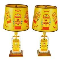 Vintage Gordon's London Dry Gin Bottle Table Lamps - a Pair - $295.00