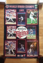 "1987 Minnesota Twins World Series Champs Poster 22"" x 34"""