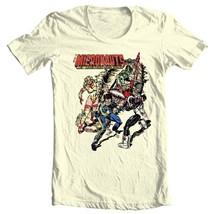 Micronauts Graphic Tee Shirt 80's retro comics toys distressed t-shirt cotton image 2