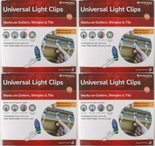4x 100ct Simple Living Innovaciones Universal Navidad Luz Canalón Pinzas... - $21.90