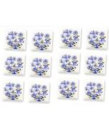 Blue Onion Porcelain Tiles 1.791/2 Reutter Dollhouse Miniature - $25.33