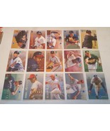 1995 Fleer Emotion Baseball lot of 28 cards - $3.00