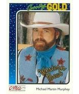 Michael Martin Murphey trading card (Country Music) 1992 Sterling Countr... - $3.00