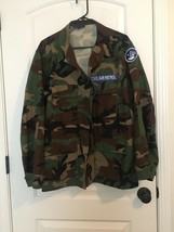 Propper Nc Civil Air Patrol Army Uniform Jacket Adult Sz L/R Camouflage Bdu - $44.37