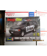 Revell Ford Expedition Police SSV 1/25 scale - $24.99