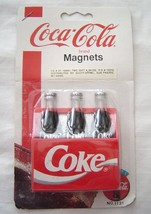"Coca-Cola Magnet "" Bottles in Carrying Case""  NOS 1997 Original Packaging - $9.99"