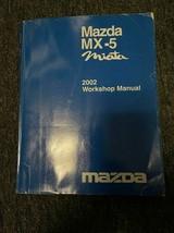 2002 Mazda MX-5 MX5 MIATA Service Shop Workshop Repair Manual OEM - $143.50