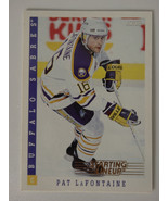 1993 Score Starting Lineup Pat LaFontaine Buffalo Sabres Kenner NHL Hock... - $1.00