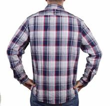 NEW MEN'S DOCKERS CLASSIC FIT CASUAL WOVEN FLANNEL SHIRT PEACOAT 8BW27LK image 3