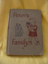 Peter's Family A Study of Home Life Social Studies Book 1949 - $15.00