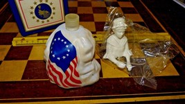 VINTAGE AVON 1976 BETSY ROSS FIGURINE 4oz SONNET COLOGNE Free Shipping - $11.39