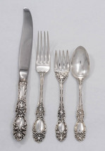 Lucerne by Wallace Sterling Silver Regular 4 piece Place Setting - NoMon - $195.00