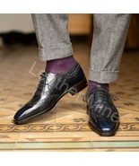 Men's Handmade New Design Leather Brogue Formal custom Made Dress Shoes - $159.99+