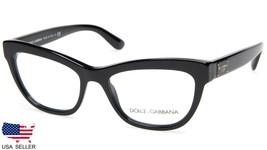 5d1920f31f0f New D amp G Dolce  amp  Gabbana Dg 3253 501 Black Eyeglasses Frame 51-