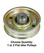 "Heavy Duty Flat Idler Pulley fits 481048 36"" 48"" 52"" 61"" Walk Behind Mowers - $16.42+"