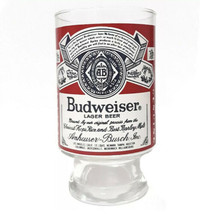 Vintage Anheuser-Busch Budweiser Large 32 Oz Footed Glass - $14.83