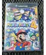 Mario Party 4 Nintendo GameCube, 2002 No Manual Disc in Very Good Condition - $79.19