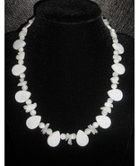 "17"" Pearl Princess genuine pearl and shell necklace - $95.00"