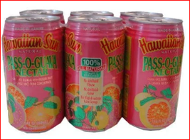 12 Cans, Hawaiian Sun Pass O Guava Nectar, Canned Juice, Non Carbonated ... - $24.99