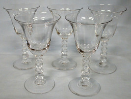 Imperial Candlewick 3400 Wine 5 1/2, set of 5 - $50.38