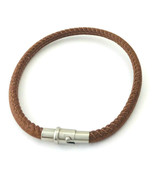 Brighton Coachella Brown Leather Bracelet, Size S, New - $28.49