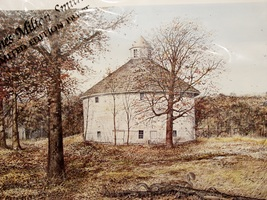 "1983 James Milton Smith ""The Risum Round Barn"" Limited Edition Art Print  - $45.00"