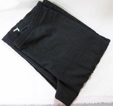 Calvin Klein women suit pants trouser size 6 black with white stripe str... - $27.27