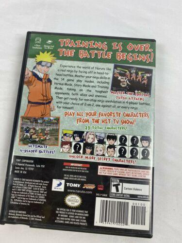 Naruto: Clash of Ninja 2 (Nintendo GameCube, 2006) CCG  Missing image 3