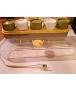Salton Automatic Yogurt Maker  GM-5  Glass Jars /Lids--NO THERMOSTAT - $29.69
