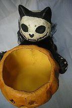 Bethany Lowe Skeleton Cat Candle Holder image 3