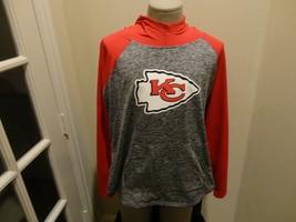 Kansas City Chiefs Womens 2X Hooded 88-12 Poly Spandex Sweatshirt New wo Tags  - $39.59