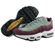 Nike Air Max 95 Womens Size 6.5 Premium Bordeaux Purple Pink Grey Runnin... - $139.95