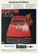 1967 Chevrolet Camaro smile   24 x 36 INCH   sports car - $18.99
