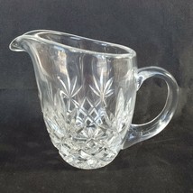 Lenox Charleston Crystal Creamer Pitcher Blown Cut Glass Clear Great Condition - $19.75