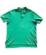 POLO RALPH LAUREN Mens XL Green Short Sleeve Polo Shirt Size XL - $16.34
